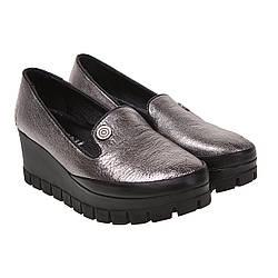 Туфли женские Eleni (стильные, на танкетке, удобные, практичные)