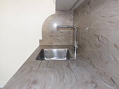 Стільниця з акрилового каменю Marble Ocean M705