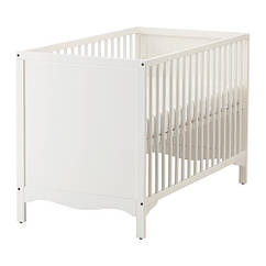 Кроватка детская IKEA SOLGUL 60x120 см белый 903.624.12