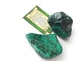 Малахит L камни для стоунтерапии, фото 3
