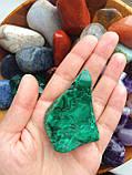 Малахит L камни для стоунтерапии, фото 2