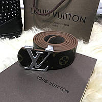 Ремень Belt Louis Vutton Initiales 40MM Silver Monogram