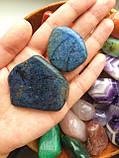 Дюмортьерит L камені для стоунтерапії, фото 2