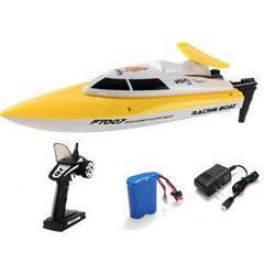 Катер на р/у Fei Lun Racing Boat 2.4GHz (желтый) FT007