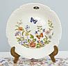 Фарфоровая коллекционная тарелка, костяной фарфор, Aynsley, Англия, 20 см