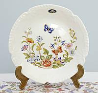 Фарфоровая коллекционная тарелка, костяной фарфор, Aynsley, Англия, 20 см, фото 1