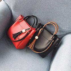 Женская сумка 2в1 9041 (25 х 30 см.) купить оптом со склада