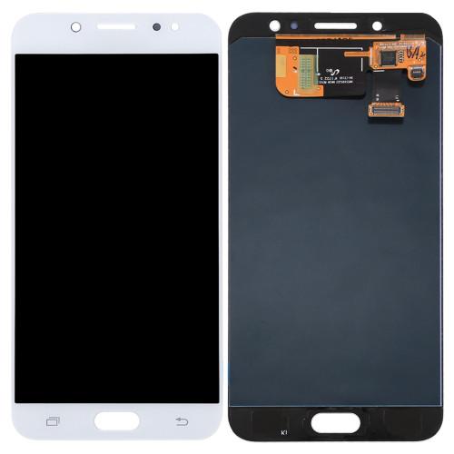 Дисплей модуль Samsung C7100 Galaxy C7 (2017) в зборі з тачскріном, білий