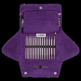 Набор круговых спиц со сменными лесками Addi Click от Woolly Hugs