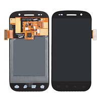 Дисплей модуль Samsung I9020 в зборі з тачскріном чорний