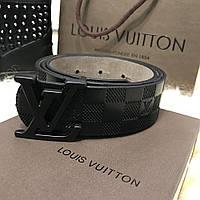 Ремень Belt Louis Vutton Initiales 40MM Black Damier Infini