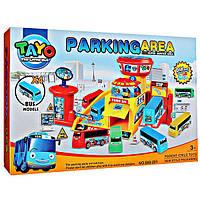 """Паркинг игровой набор для автобусов """"Тайо""""."""