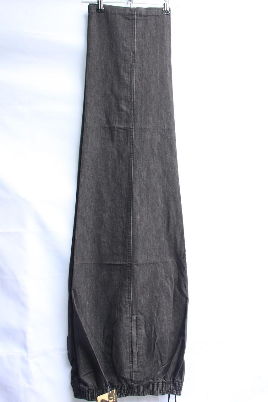 Мужские брюки (тонкий джинс) БАТАЛ оптом со склада в Одессе