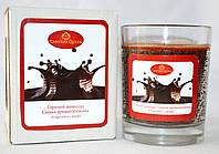 Свеча ароматизированная в стекле Горячий Шоколад, фото 1