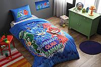 TAC PJ Masks glow, комплект детского постельного белья подростковый