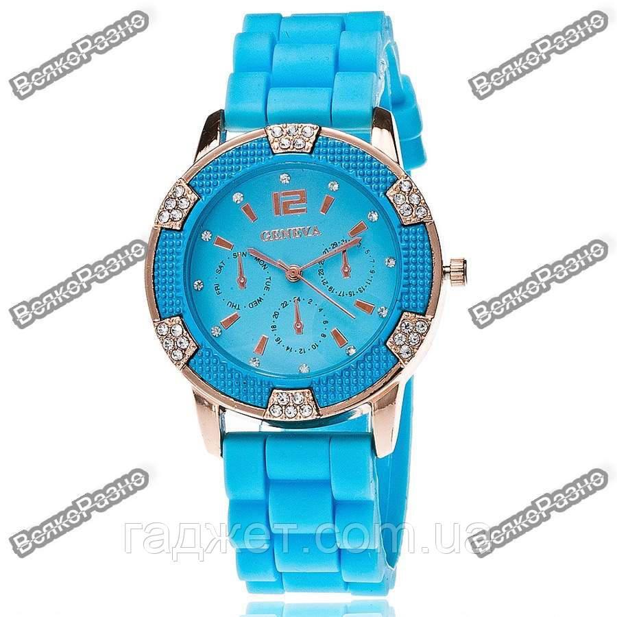 Часы Geneva Michael Kors Crystal голубые