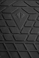 Ковры автомобильные Мицубиси Паджеро Спорт 2015- Комплект из 2-х ковриков Черный в салон