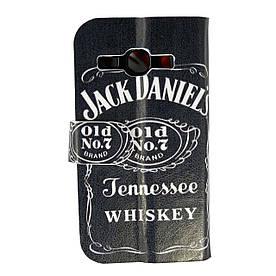 Чехол книжка для LG L60 Dual X135, X145 боковой Double Case, Coca Cola и Jack Daniels
