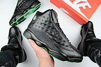 "Кроссовки мужские Nike Air Jordan 13 ""Black & Altitude"" / NR-NKR-238 (Реплика)"