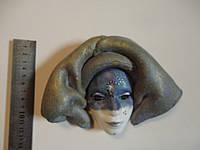 Маска декоративная керамическая (Венеция)