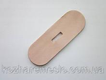 Запряжник из кожи растительного дубления 40 мм, толщина 2.4 - 2.8 мм (ИТАЛИЯ)