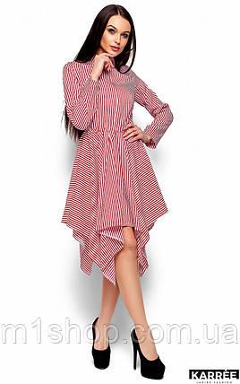 Женское полосатое платье-рубашка (Пейдж kr), фото 2