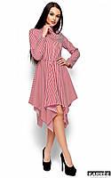 Женское полосатое платье-рубашка (Пейдж kr)