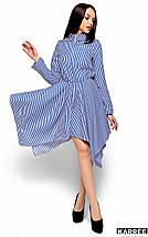Женское полосатое платье-рубашка (Пейдж kr), фото 3