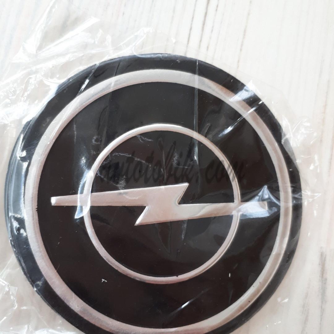 Наклейка эмблема на колпаки Opel 90 мм (4 шт.)