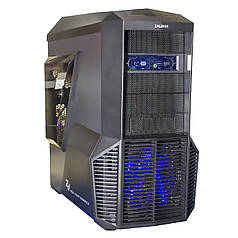 ➤Игровой компьютер Zalman Z11 Plus 16GB RAM Intel Core i5 7400 3ГГц GTX1050Ti Biostar Z170X 128GB SSD 2TB HDD