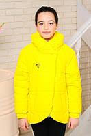 Деми куртка для девочек, VE-111-желтый, фото 1
