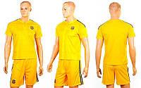 Форма футбольная детская УКРАИНА Евро 2016 (рост 116-165 см, желтый)