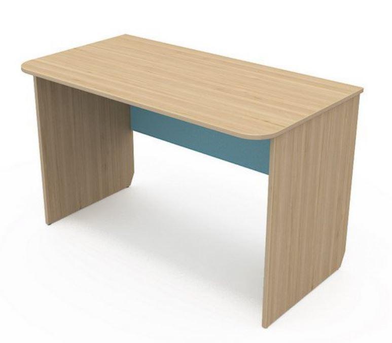 Письменный стол Кв-08-3 Акварели бирюзовые