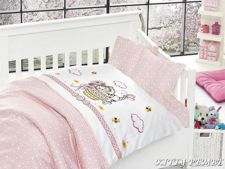 First Choice детский KITTY PEMBE 100*150/2н*40*45