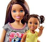 Набор Барби Скиппер и ее маленькая сестричка с коляской, фото 7