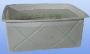 Контейнер пищевой 1000 литров ящик промышленный белый емкость, фото 2