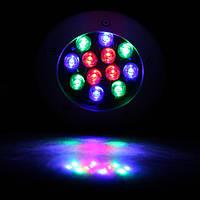 Светильник тротуарный 12Вт 12LED RGB LM999, фото 1