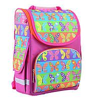 Рюкзак школьный  каркасный ортопедический для девочек PG-11 Butterfly, фото 1