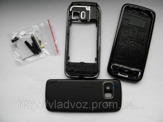 Корпус для Nokia 5800 чёрный с кнопками class AAA, фото 2