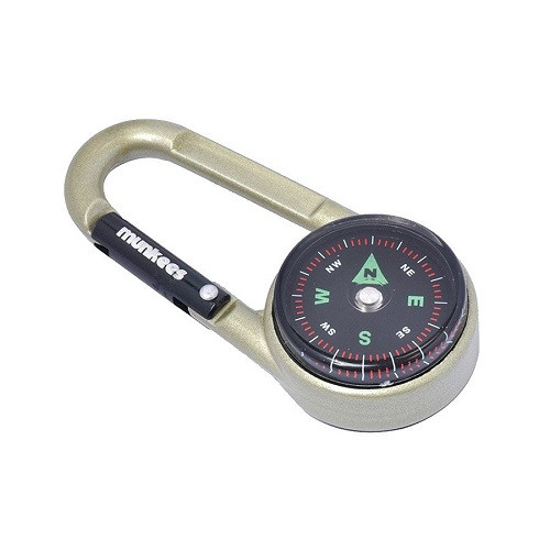 Брелок-карабин Munkees Compass with thermometer 3135