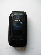 Корпус для Nokia 6085 чёрный с кнопками class AAA, фото 3