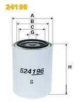 Фильтр охлаждающей жидкости WIX 24196, Германия, 765809241961, Volvo, Donaldson