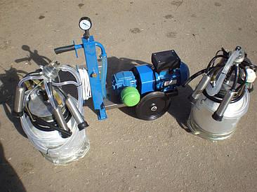 Доильный аппарат АИД-2/2 сухой (2 ведра)