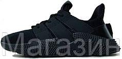 """Мужские кроссовки Adidas Prophere """"Black"""" (Адидас) черные"""