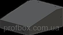 Корпус металевий з похилою панеллю MB-23 (Ш150 Г125 В60) чорний, RAL9005(Black textured)