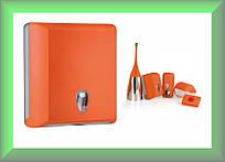 Держатель бумажных полотенец в пачках COLORED 706AR Mar Plast (оранжевый)