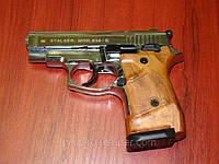 Сигнальний, стартовый пистолет Stalker 914S хром.9 мм. Киев.Украина.