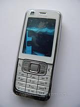 Корпус Nokia 6120c белый с клавиатурой SerteC, фото 2