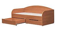 Детская кроватка с шухлядами  Винни 1800х800