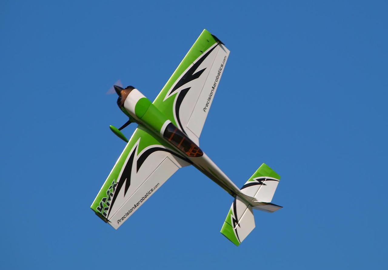 Самолёт р/у Precision Aerobatics Katana MX 1448мм KIT (зеленый) 2711713326667